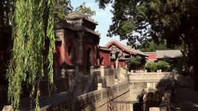 Wenchang Palace of the Jinci Memorial Temple(museum) Royalty Free Stock Photos