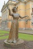 Wenche Foss statua w Oslo fotografia royalty free