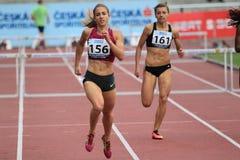 Wenda Nel - atleta Foto de Stock