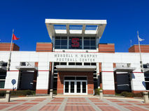 Wendell H Murphy Football Center NCSU, Cary, Noord-Carolina royalty-vrije stock afbeeldingen