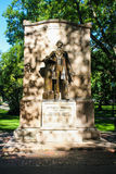 Wendell Phillips statue in Boston Public Gardens, Boston, MA. Stock Photos