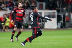 Wendell podczas UEFA champions league gry między Bayer 04 L Zdjęcia Royalty Free