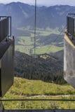Wendelstein-Drahtseilbahn Lizenzfreies Stockbild