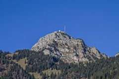 Wendelstein in the Mangfall mountains Royalty Free Stock Photos