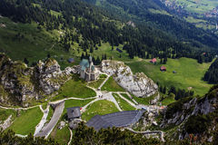 Wendelstein mountain. Royalty Free Stock Photos