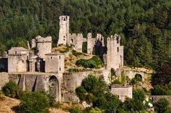 Wenden Order Castle nelle vicinanze del Gauja N fotografia stock libera da diritti
