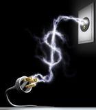 Wenden Sie Energie auf Lizenzfreies Stockfoto
