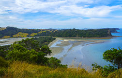 Wenderholm Beach Auckland New Zealand; Regional Park royalty free stock image