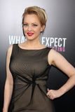 Wendi McLendon-Covey arrives at the. LOS ANGELES - MAY 14: Wendi McLendon-Covey arrives at the What To Expect When You're Expecting Premiere at Graumans Chinese royalty free stock images