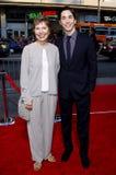 Wendy Lesniak and Justin Long Royalty Free Stock Photo