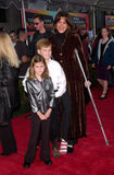 Wendy Malick. Actress WENDY MALICK & children at the world premiere in Hollywood of Disney's The Emperor's New Groove. 10DEC2000.   Paul Smith/Featureflash Royalty Free Stock Photos