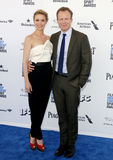 Wendy Merry and Tom McCarthy. At the 2016 Film Independent Spirit Awards held at the Santa Monica Beach in Santa Monica, USA on February 27, 2016 Royalty Free Stock Images