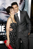 Wendy Moniz and Frank Grillo Stock Photos