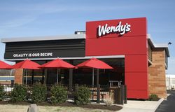 Wendy`s Resturant Royalty Free Stock Photos