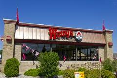 Wendy's Retail Location Exterior II Stock Photos