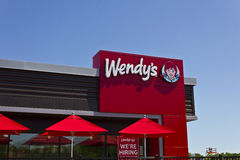 Wendy's Retail Location IV Royalty Free Stock Images