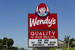 Wendy's Retail Location V Stock Photos