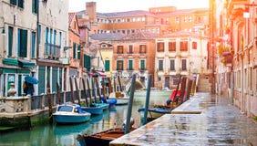 Weneccy kanały obraz stock
