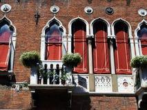 Weneccy okno Zdjęcie Stock