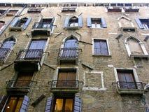 Weneccy okno Fotografia Royalty Free