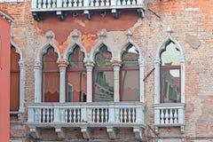 Weneccy okno Obrazy Royalty Free