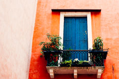 Wenecja balkon Obrazy Royalty Free