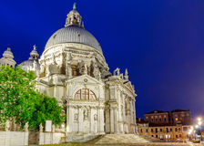 Wenecja Bazylika Santa Maria della salut przy Obrazy Stock