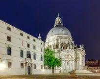 Wenecja Bazylika Santa Maria della salut przy Zdjęcia Royalty Free