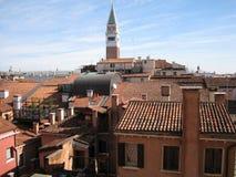 Wenecja dachy Obraz Royalty Free