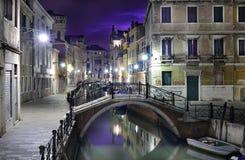 Wenecja dramatyczna sceneria Obrazy Royalty Free