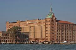 Wenecja, Giudecca wyspa: Molino Stucky Zdjęcia Royalty Free