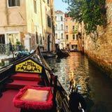 Wenecja gondola zdjęcia stock