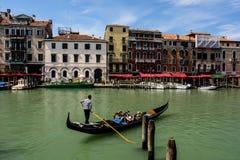 Wenecja gondola Włochy zdjęcia royalty free