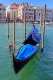 Wenecja, gondola w przedpolu Zdjęcie Stock
