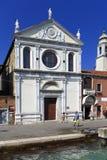Wenecja historyczny centrum miasta, Veneto rigion Włochy, Santa, - Maria Obrazy Stock