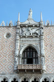 WENECJA, ITALY/EUROPE - PAŹDZIERNIK 12: Częściowy widok Świątobliwe oceny Fotografia Stock