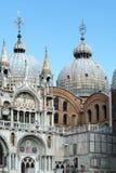 WENECJA, ITALY/EUROPE - PAŹDZIERNIK 12: Częściowy widok Świątobliwe oceny Zdjęcie Stock