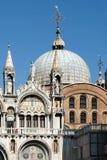WENECJA, ITALY/EUROPE - PAŹDZIERNIK 12: Częściowy widok Świątobliwe oceny Obrazy Royalty Free