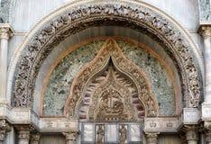 WENECJA, ITALY/EUROPE - PAŹDZIERNIK 12: Częściowy widok Świątobliwe oceny Zdjęcia Royalty Free