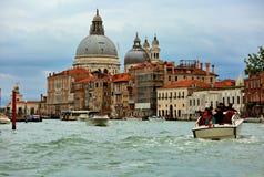 WENECJA, ITALY-15 WRZESIEŃ, 2017: Piękny panarama Uroczysty Ca Zdjęcie Royalty Free