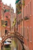 Wenecja kanał fotografia royalty free