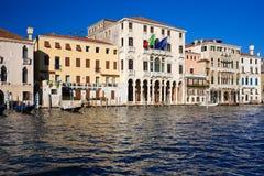 Wenecja kanał grande zdjęcia royalty free