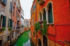 Wenecja kanał Włochy Obrazy Stock