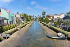 Wenecja Kanałowy Historyczny okręg, Los Angeles obraz stock