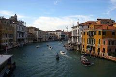 Wenecja kanał grande zdjęcie royalty free
