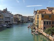 Wenecja: Kanał Grande Zdjęcie Royalty Free