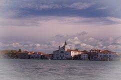 Wenecja Kanałowy Della Giudecca Zdjęcia Royalty Free