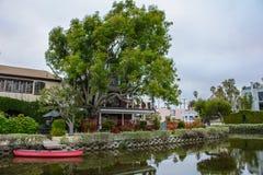 Wenecja kanałowy Los Angeles, Kalifornia, Stany Zjednoczone Obraz Royalty Free