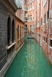 Wenecja kanały Zdjęcia Royalty Free