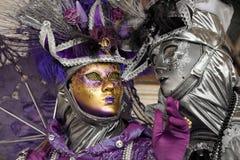Wenecja karnawał Obraz Royalty Free